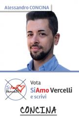 Alessandro Concina - nato a Vercelli il 14.04.1980