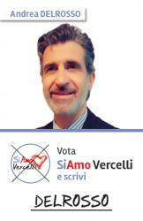 Andrea Delrosso - nato a Vercelli il 14.01.1970