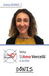 Anna Donis - nata a Vercelli il 31.05.1984