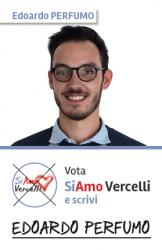 Edoardo Perfumo - nato a Vercelli il 23.10.1993