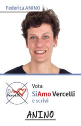 Federica Anino - nata a Vercelli il 21.07.1978