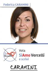 Federica Caramini - nata a Vercelli il 23.11.1982