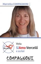 Marcella Compagnoni - nata a Vercelli il 12.02.1971