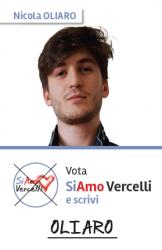 Nicola Oliaro - nato a Vercelli il 14.01.1999