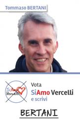Tommaso Bertani - nato a Vercelli il 27.07.1966